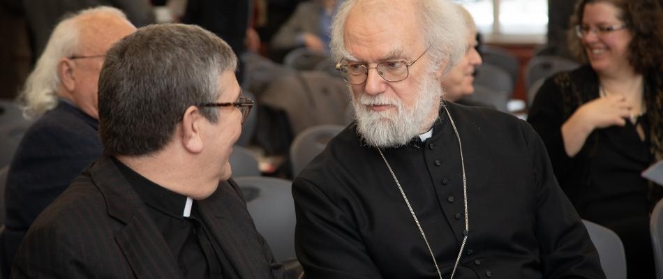HURON UNIVERSITY CONFERS THE HONOURARY DEGREE OF DOCTOR OF DIVINITY UPON DR. ROWAN WILLIAMS